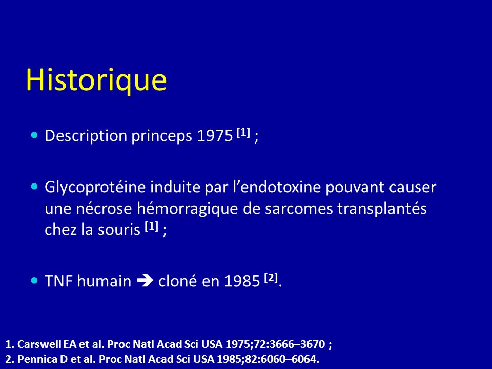 Historique Description princeps 1975 [1] ;